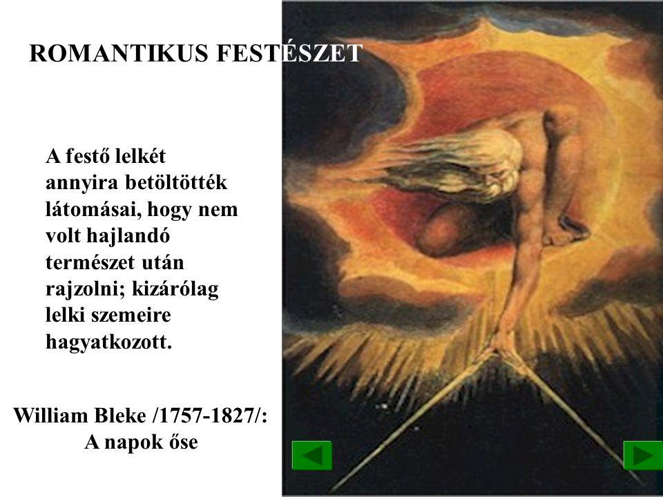 William Bleke /1757-1827/: A napok őse