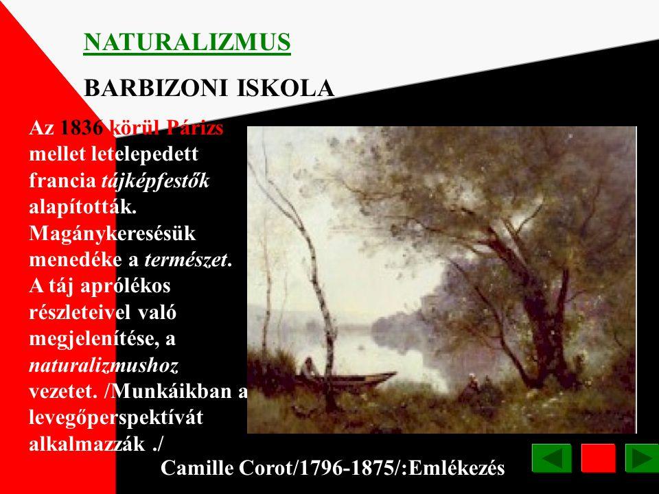 NATURALIZMUS BARBIZONI ISKOLA