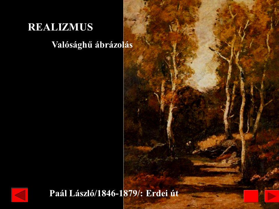 Paál László/1846-1879/: Erdei út