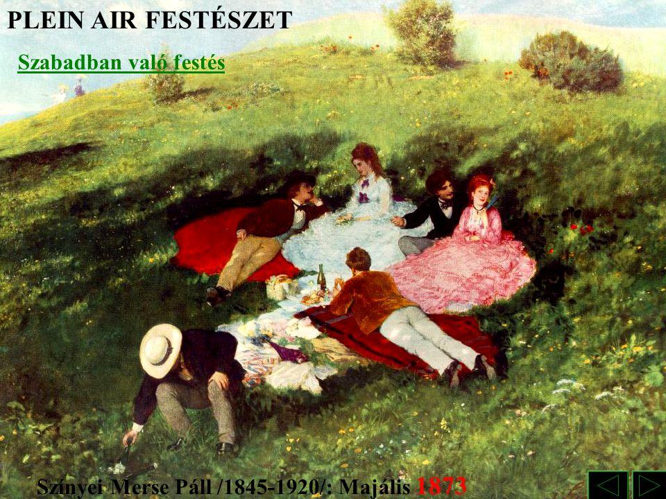 Színyei Merse Páll /1845-1920/: Majális 1873