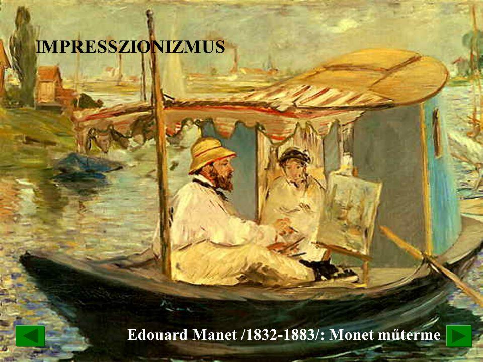Edouard Manet /1832-1883/: Monet műterme