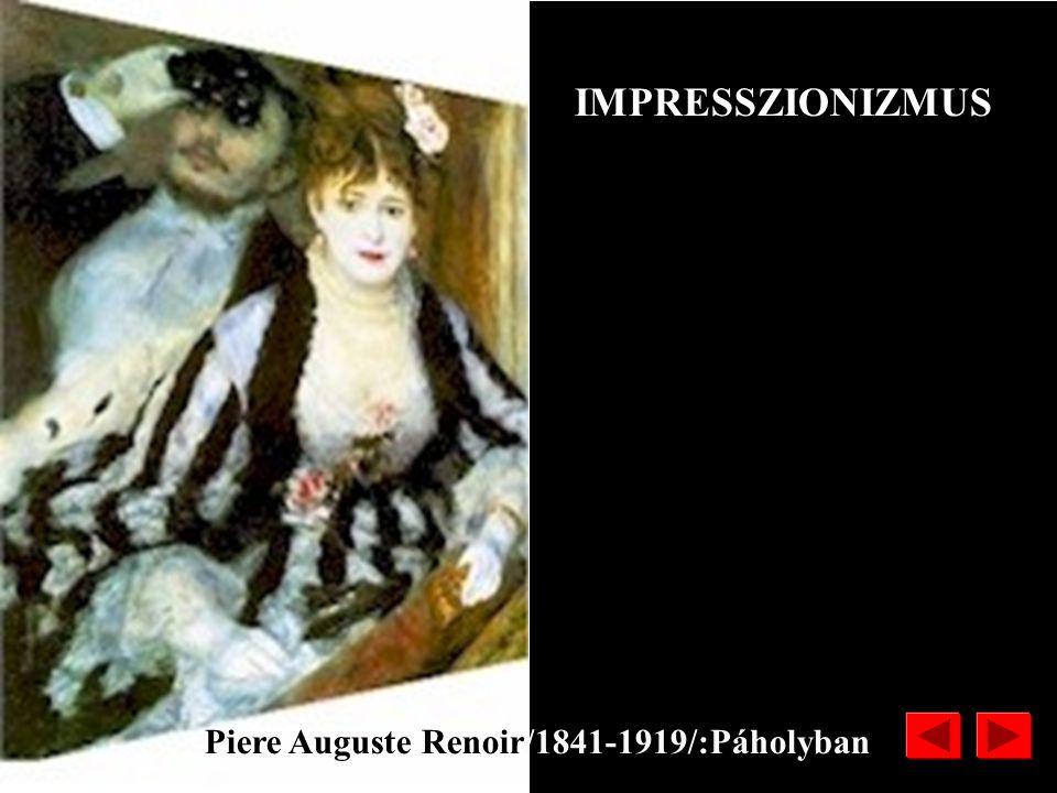 IMPRESSZIONIZMUS Piere Auguste Renoir/1841-1919/:Páholyban