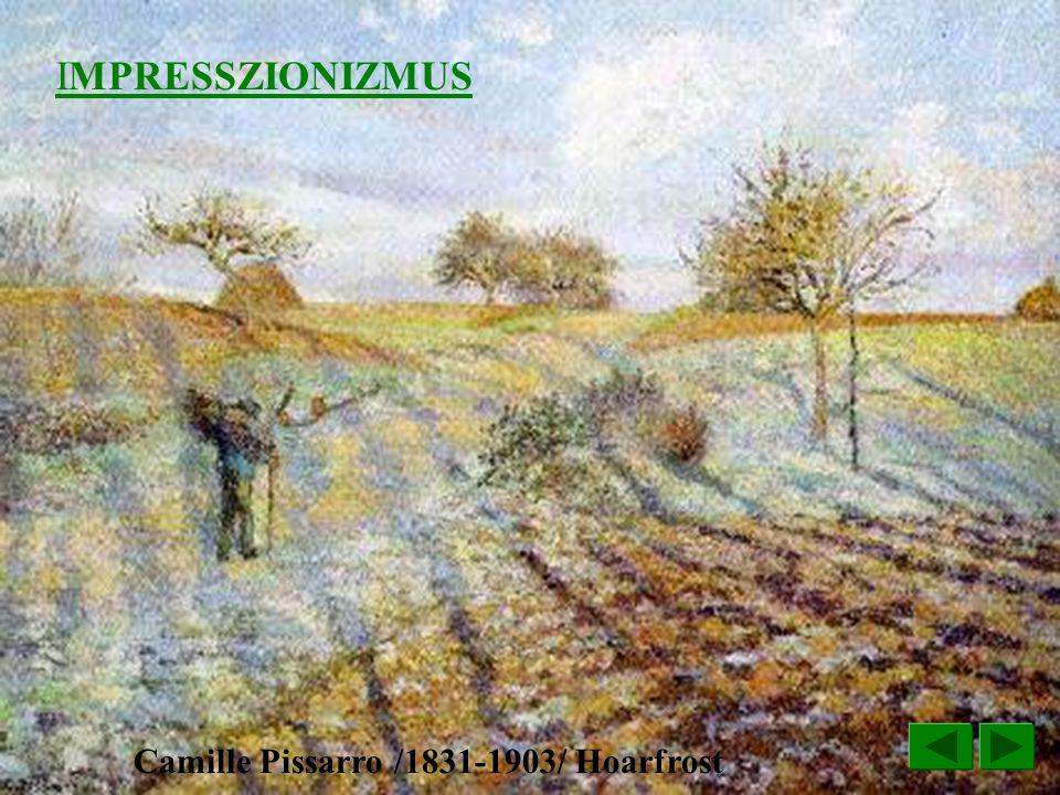 Camille Pissarro /1831-1903/ Hoarfrost