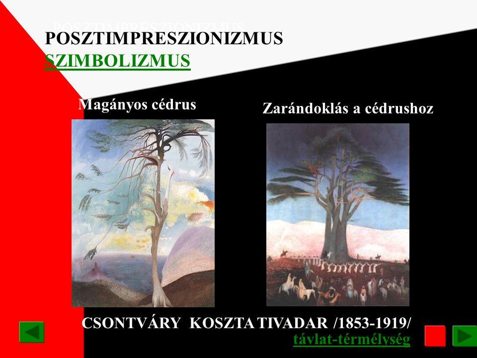 Zarándoklás a cédrushoz CSONTVÁRY KOSZTA TIVADAR /1853-1919/