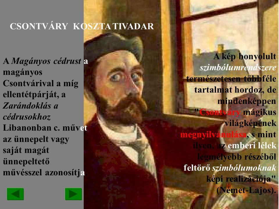 CSONTVÁRY KOSZTA TIVADAR