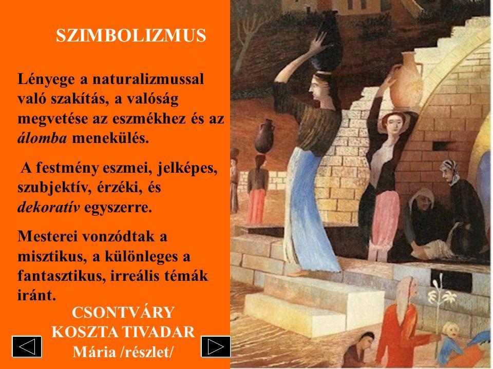 CSONTVÁRY KOSZTA TIVADAR Mária /részlet/