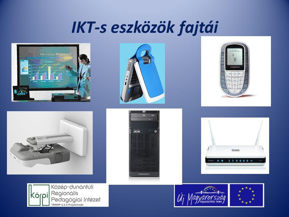 IKT-s eszközök fajtái
