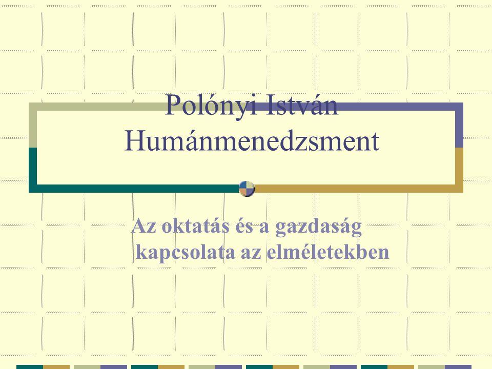 Polónyi István Humánmenedzsment