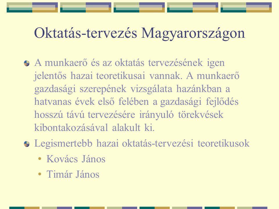 Oktatás-tervezés Magyarországon