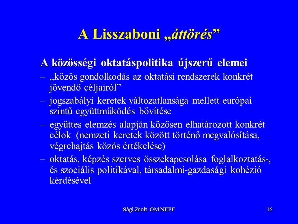"""A Lisszaboni """"áttörés"""
