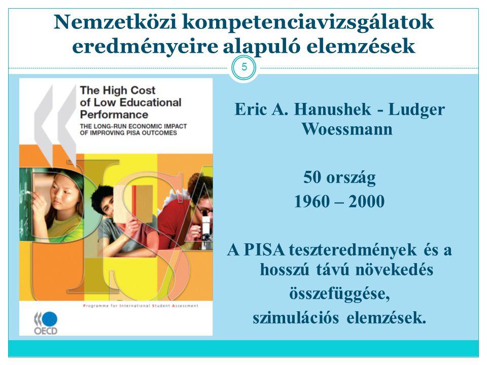 Nemzetközi kompetenciavizsgálatok eredményeire alapuló elemzések