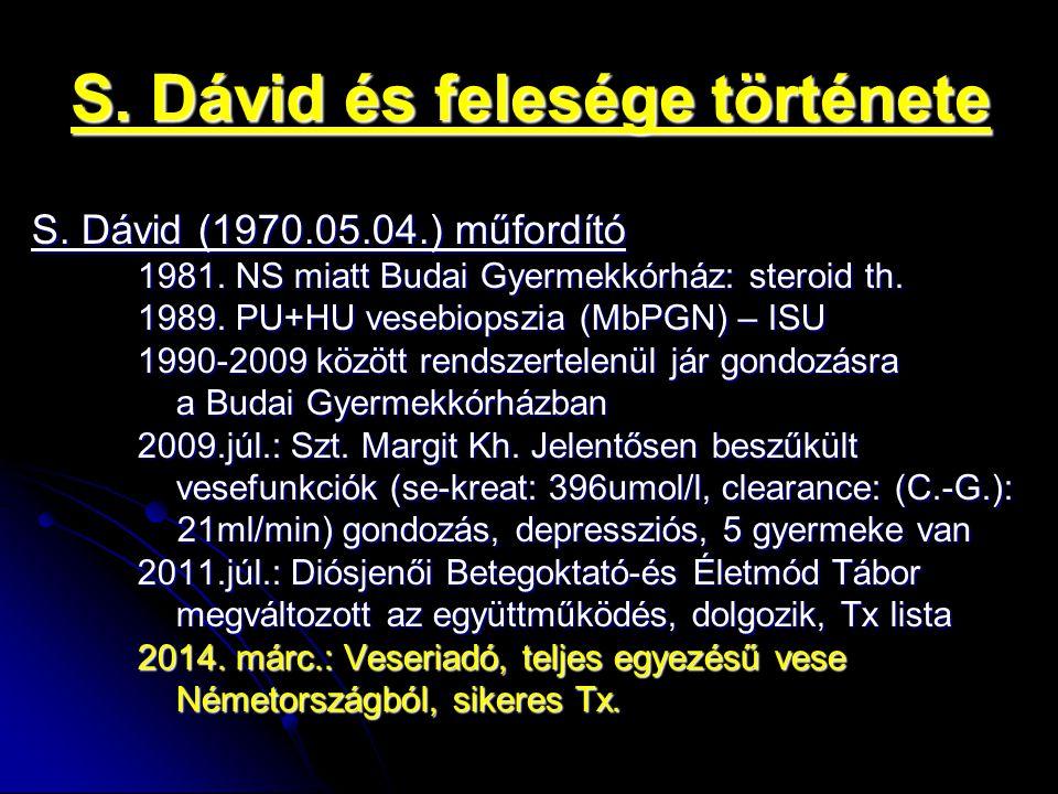 S. Dávid és felesége története