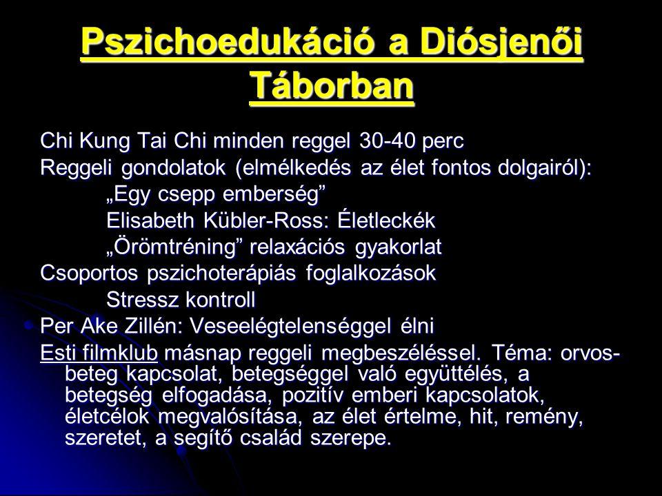 Pszichoedukáció a Diósjenői Táborban
