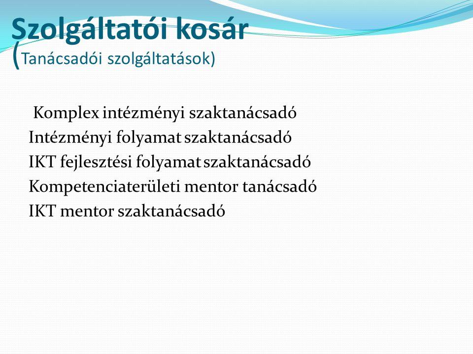 Szolgáltatói kosár (Tanácsadói szolgáltatások)