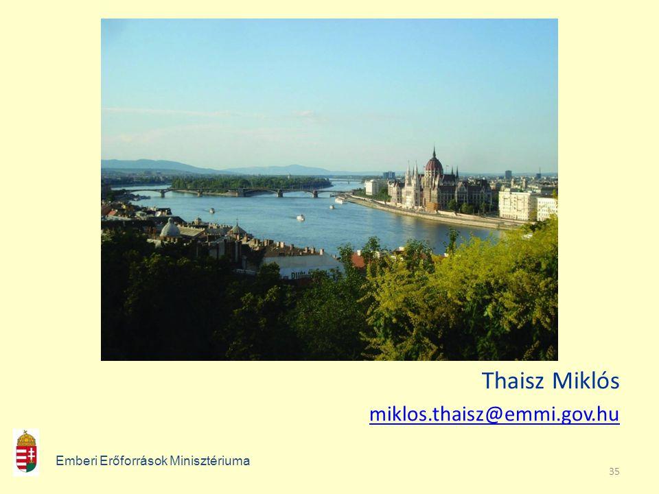 Thaisz Miklós miklos.thaisz@emmi.gov.hu