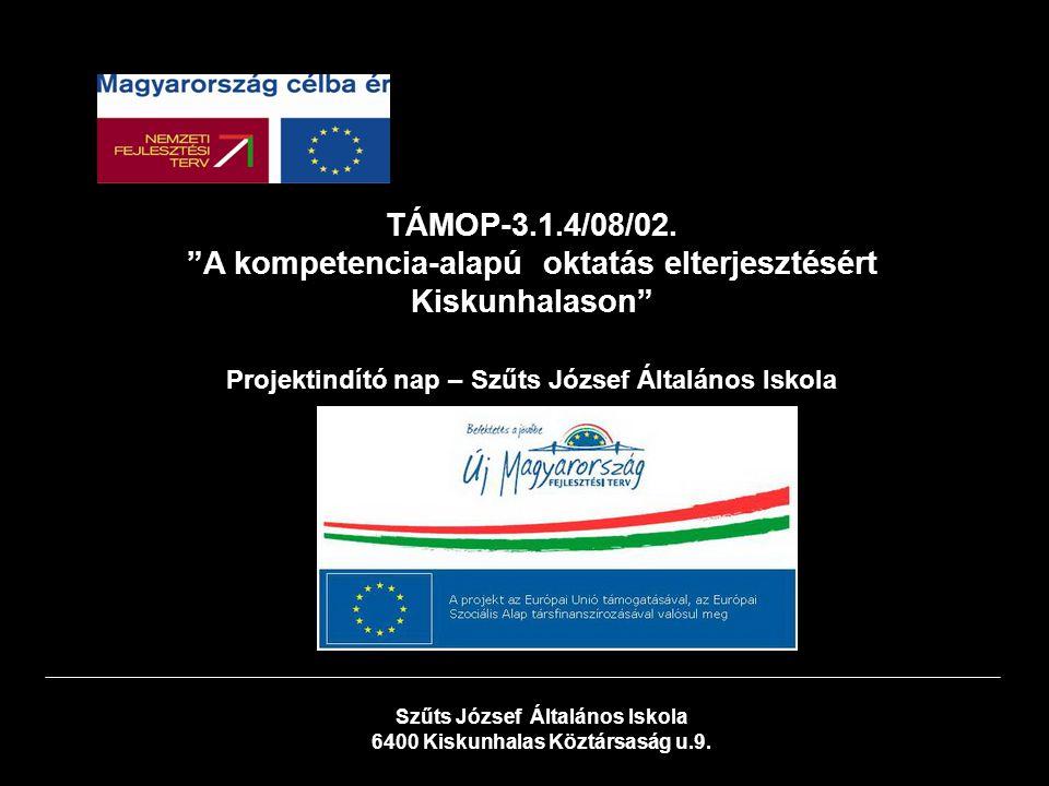Szűts József Általános Iskola 6400 Kiskunhalas Köztársaság u.9.