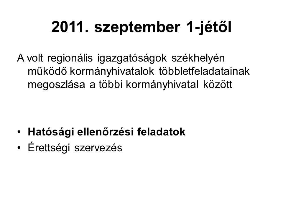 2011. szeptember 1-jétől