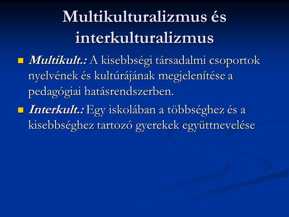 Multikulturalizmus és interkulturalizmus