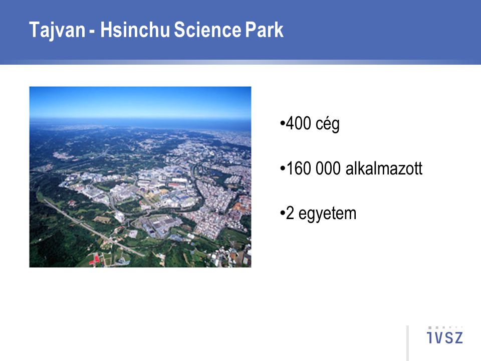 Tajvan - Hsinchu Science Park