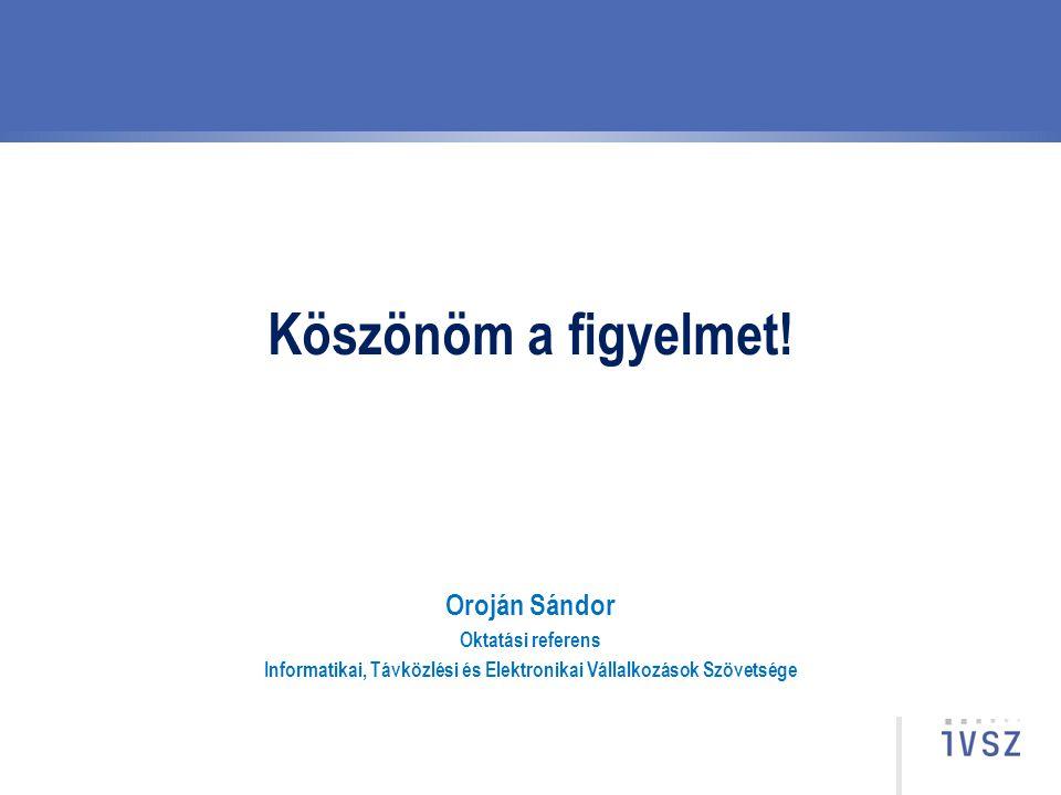 Informatikai, Távközlési és Elektronikai Vállalkozások Szövetsége