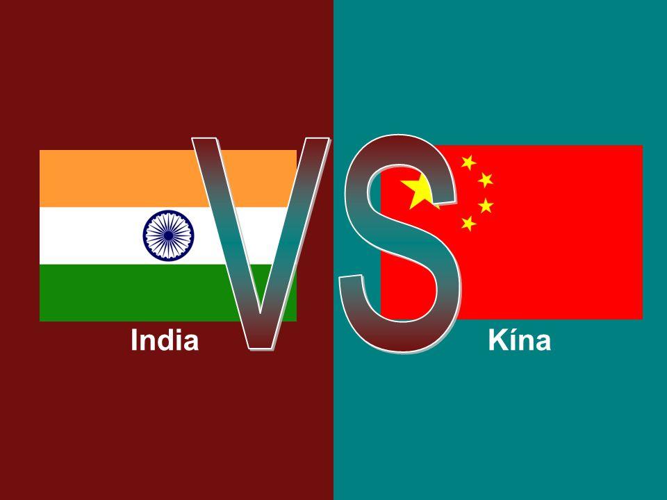VS India Kína