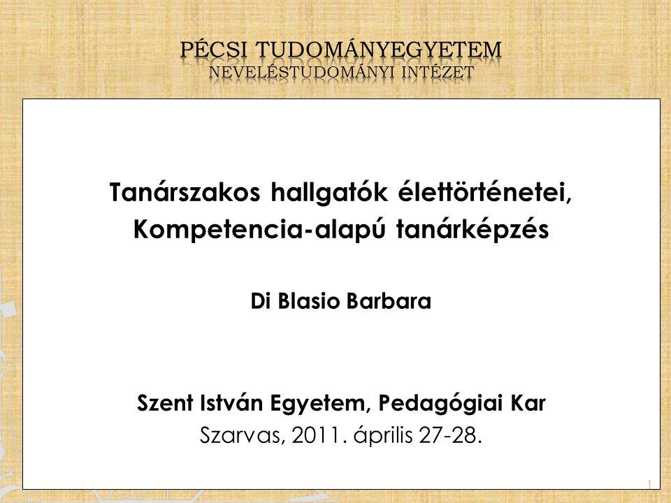 Pécsi tudományegyetem neveléstudományi Intézet