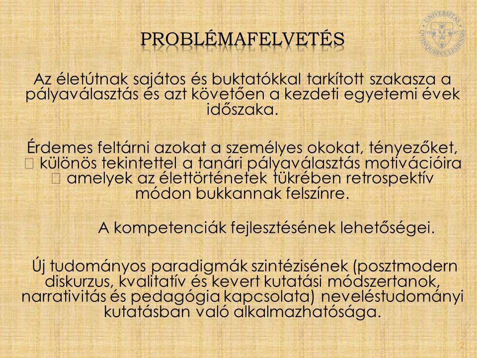problémafelvetés