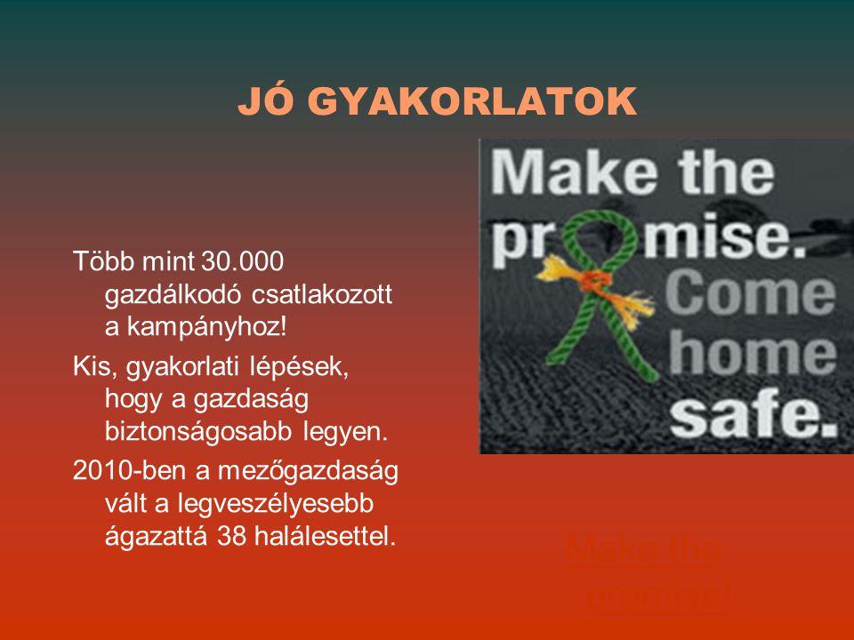 JÓ GYAKORLATOK Make the promise!