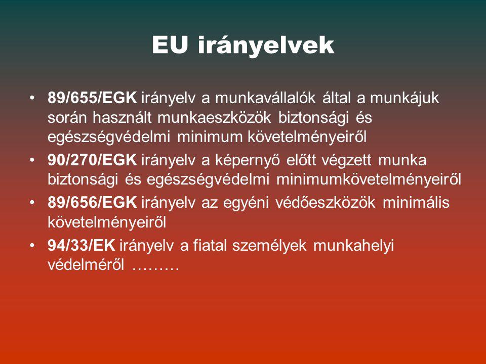 EU irányelvek