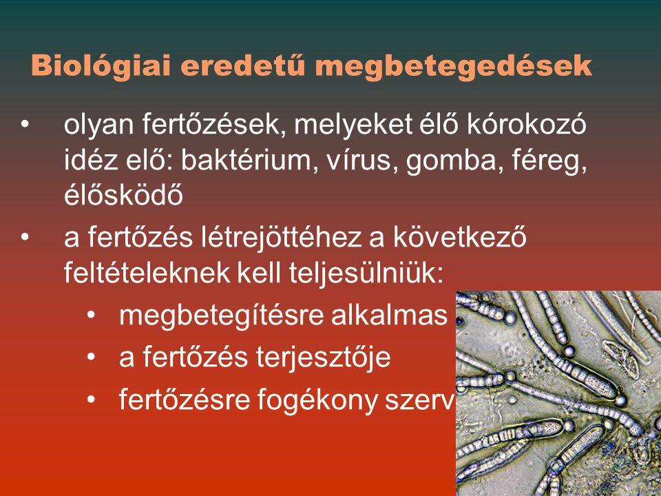 Biológiai eredetű megbetegedések