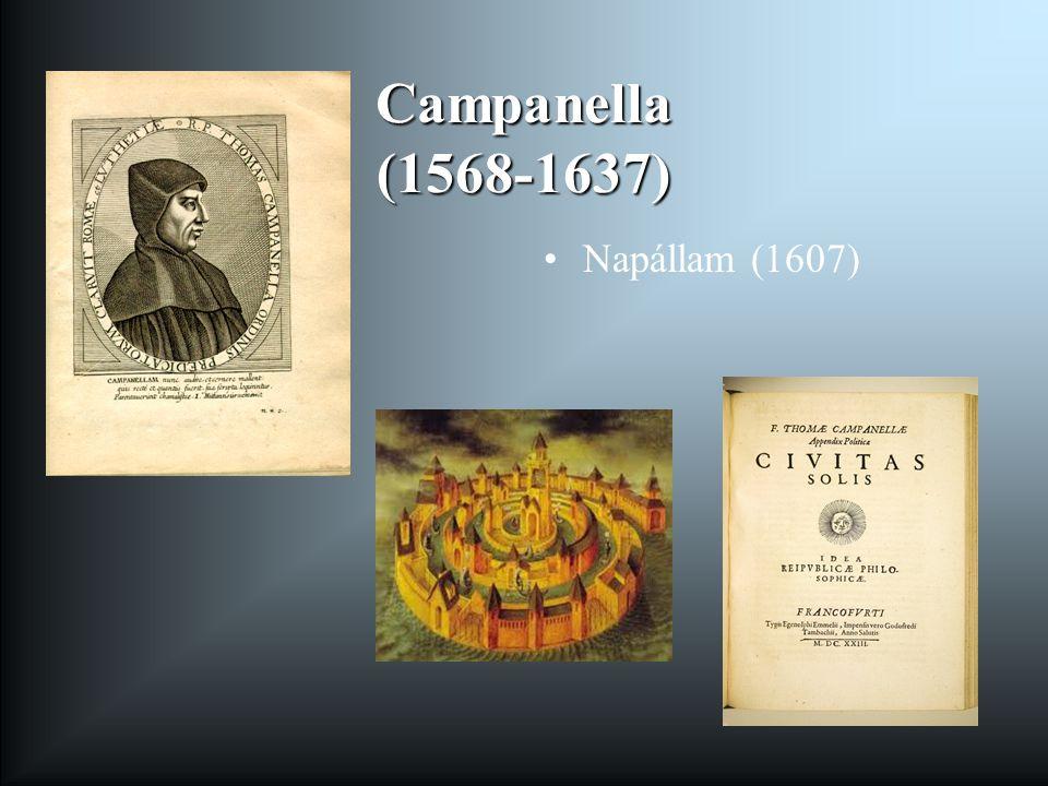 Campanella (1568-1637) Napállam (1607)