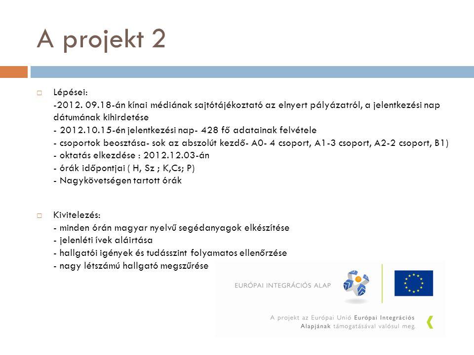 A projekt 2