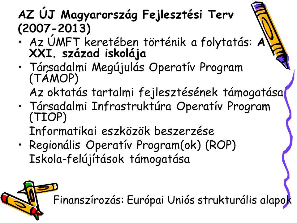 AZ ÚJ Magyarország Fejlesztési Terv (2007-2013)
