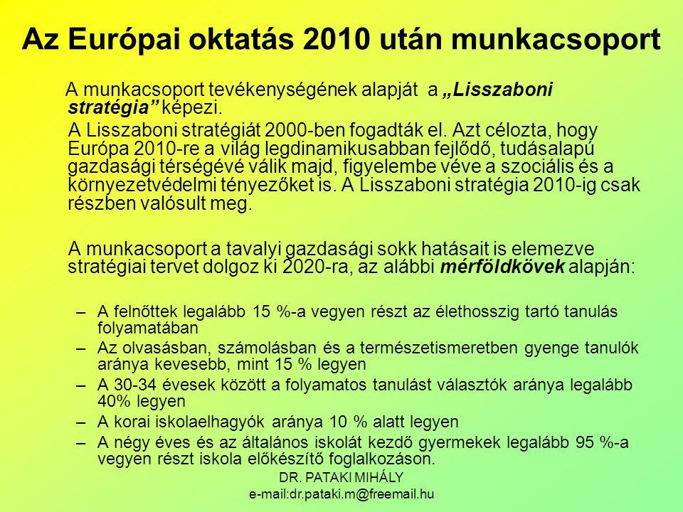 Az Európai oktatás 2010 után munkacsoport