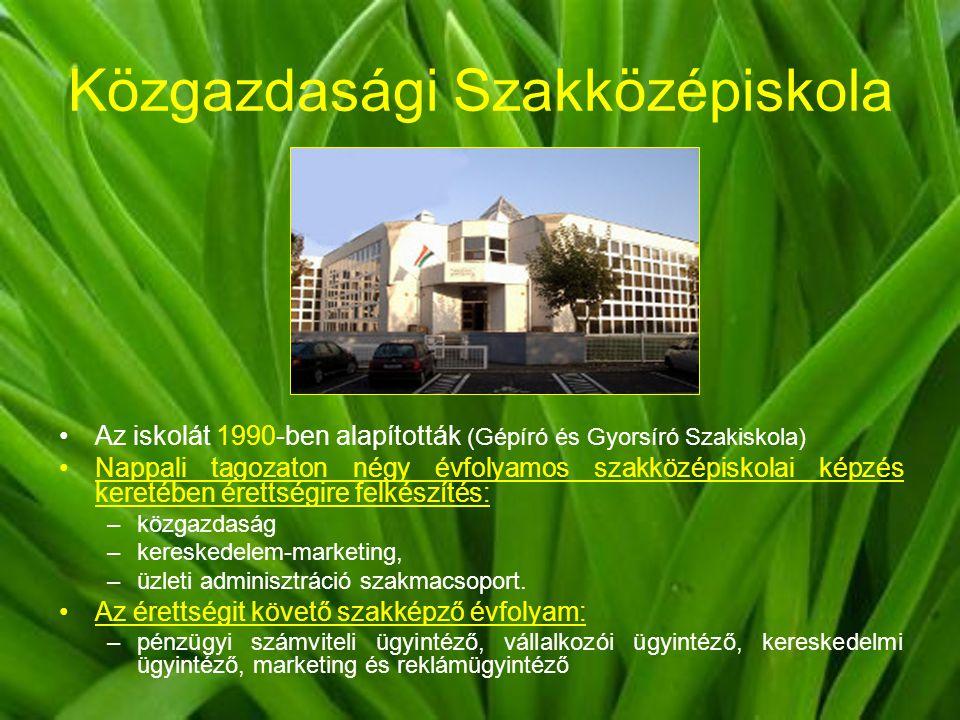 Közgazdasági Szakközépiskola