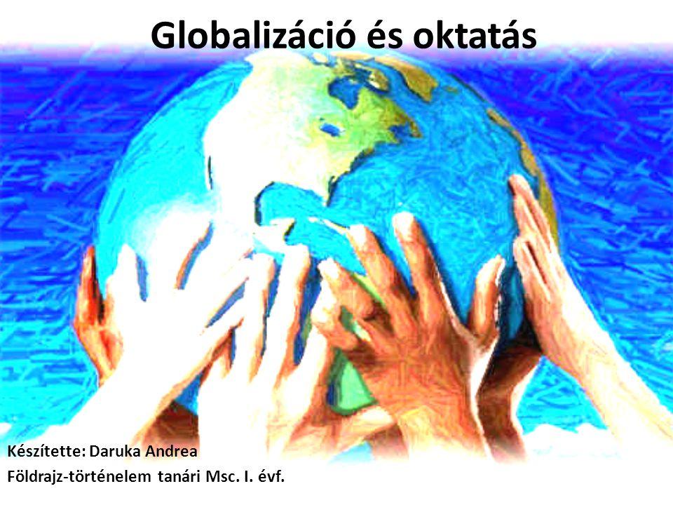 Globalizáció és oktatás