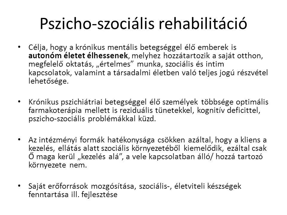 Pszicho-szociális rehabilitáció
