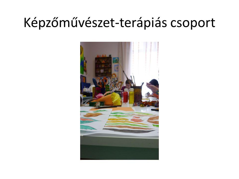 Képzőművészet-terápiás csoport