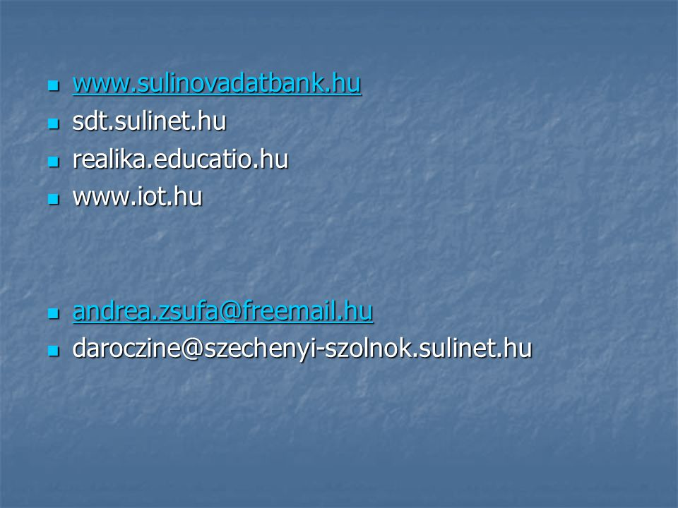 sdt.sulinet.hu. realika.educatio.hu.