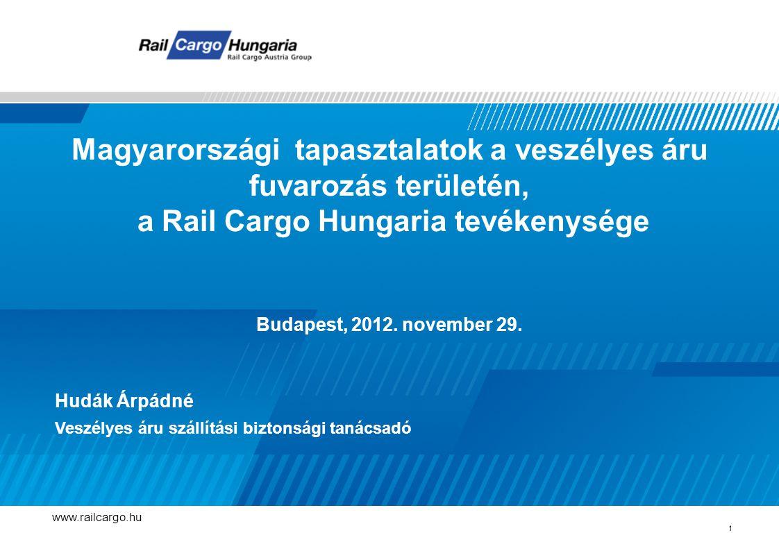 Magyarországi tapasztalatok a veszélyes áru fuvarozás területén,