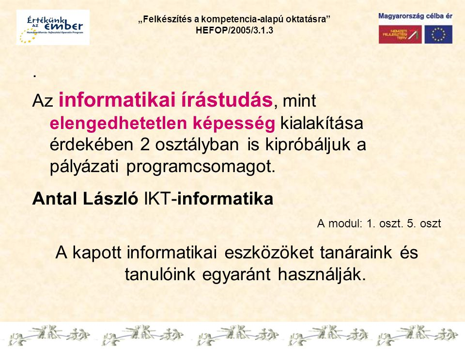 Antal László IKT-informatika