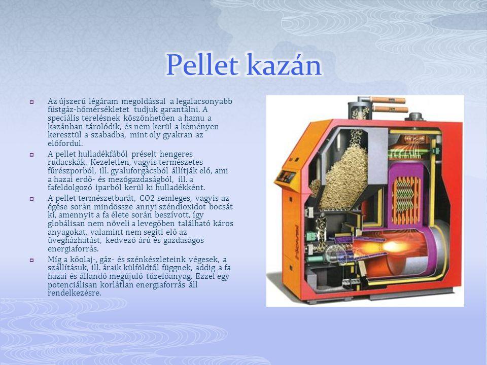 Pellet kazán