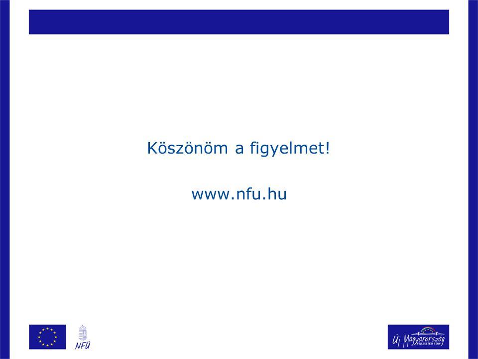 Köszönöm a figyelmet! www.nfu.hu