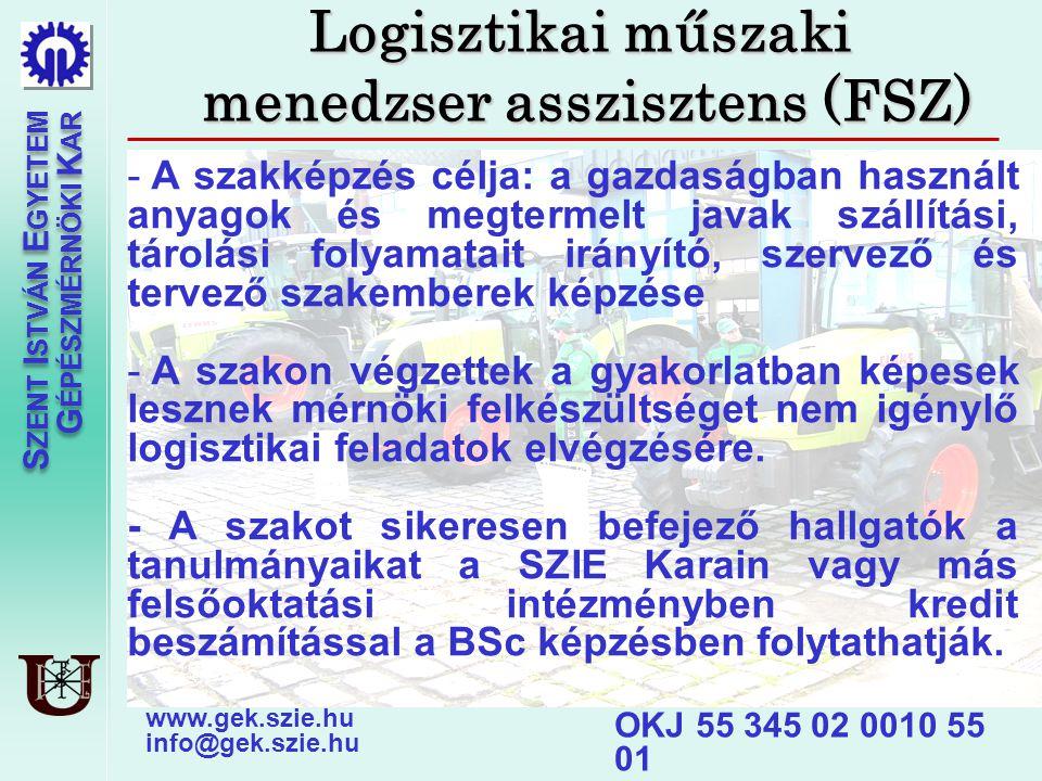 menedzser asszisztens (FSZ)