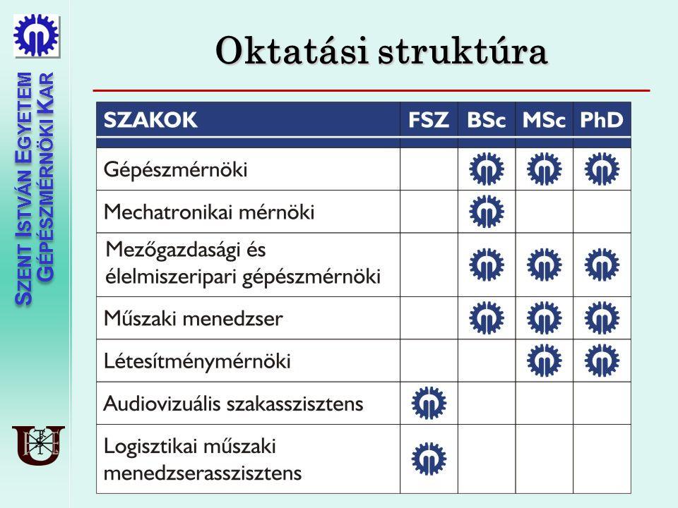 Oktatási struktúra