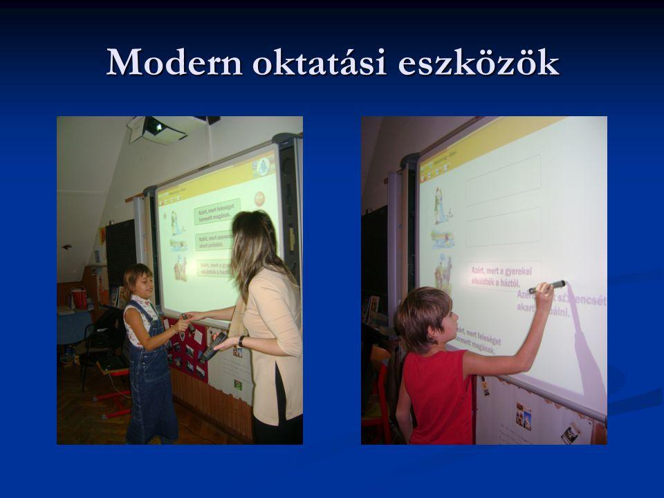 Modern oktatási eszközök