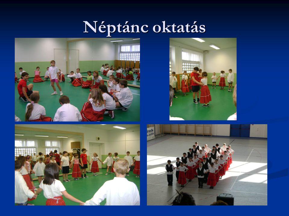 Néptánc oktatás