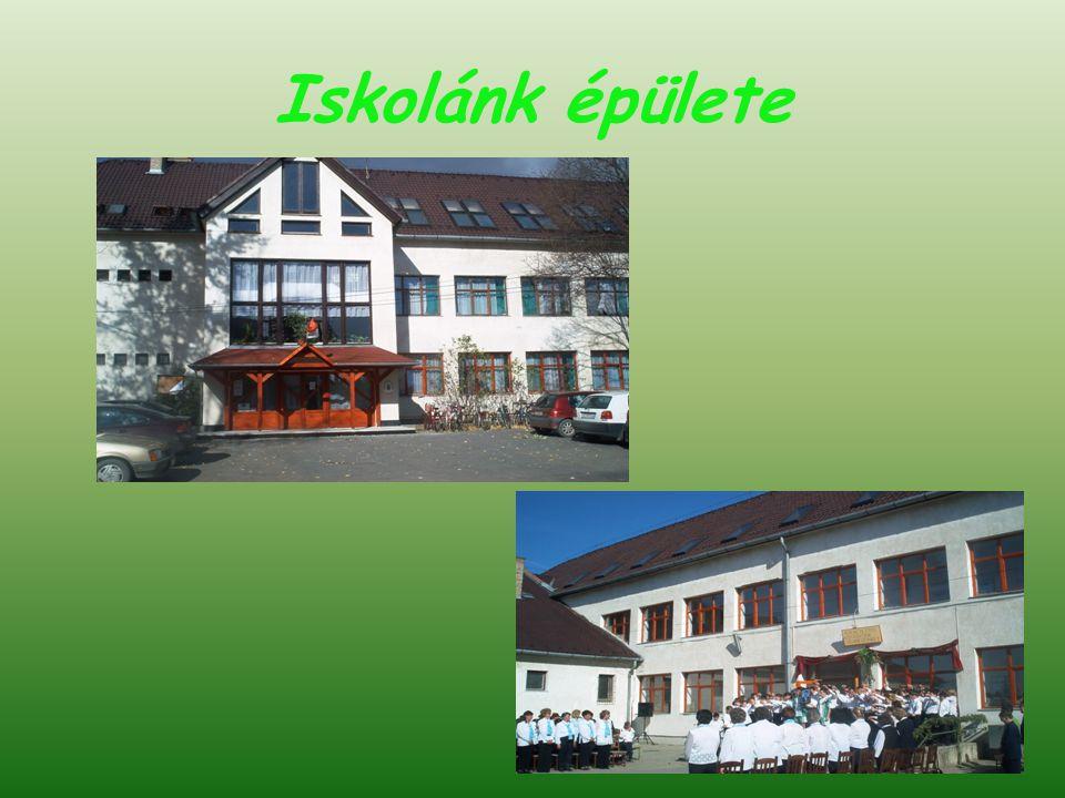 Iskolánk épülete