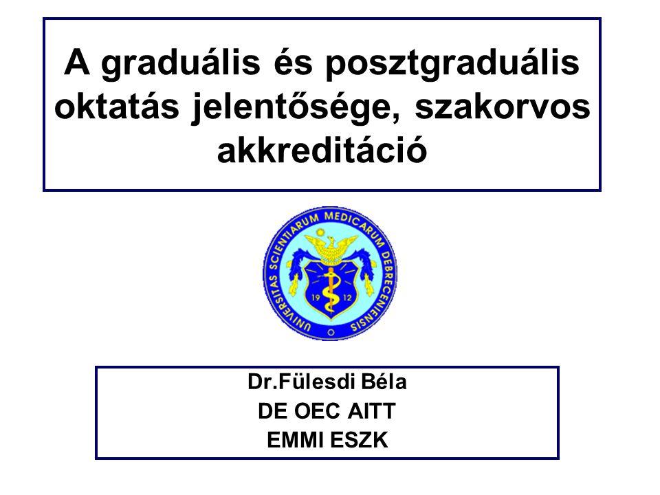 Dr.Fülesdi Béla DE OEC AITT EMMI ESZK