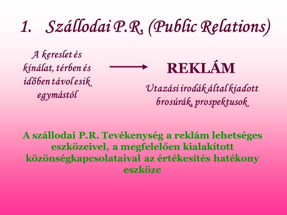 Szállodai P.R. (Public Relations)